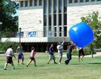 Student ball activity on the Union lawn-6