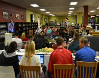 Mini movie night event at the Mabee Library-8