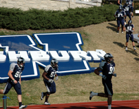 Washburn football players entering Moore Bowl-5
