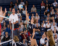 Ichabods volleyball in Lee Arena-1