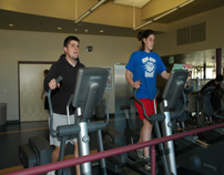 Students working out at SRWC-3