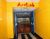 Entrance to the ArtLab-5