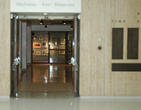 Inside entrance to Mulvane Art Museum-4