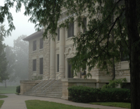 Foggy day outside Carnegie-3