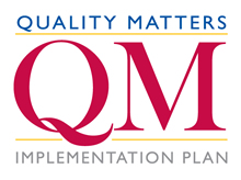 Quality Matters Implementation Plan