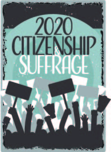 Citizenship and suffrage: WUmester 2020 graphic