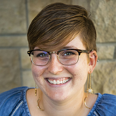 Indigo Wilson-Schmidt is an admissions counselor at Washburn University.
