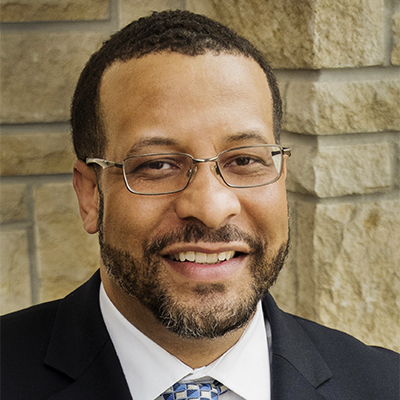 Joseph Tinsley is the director of Admissions at Washburn University.