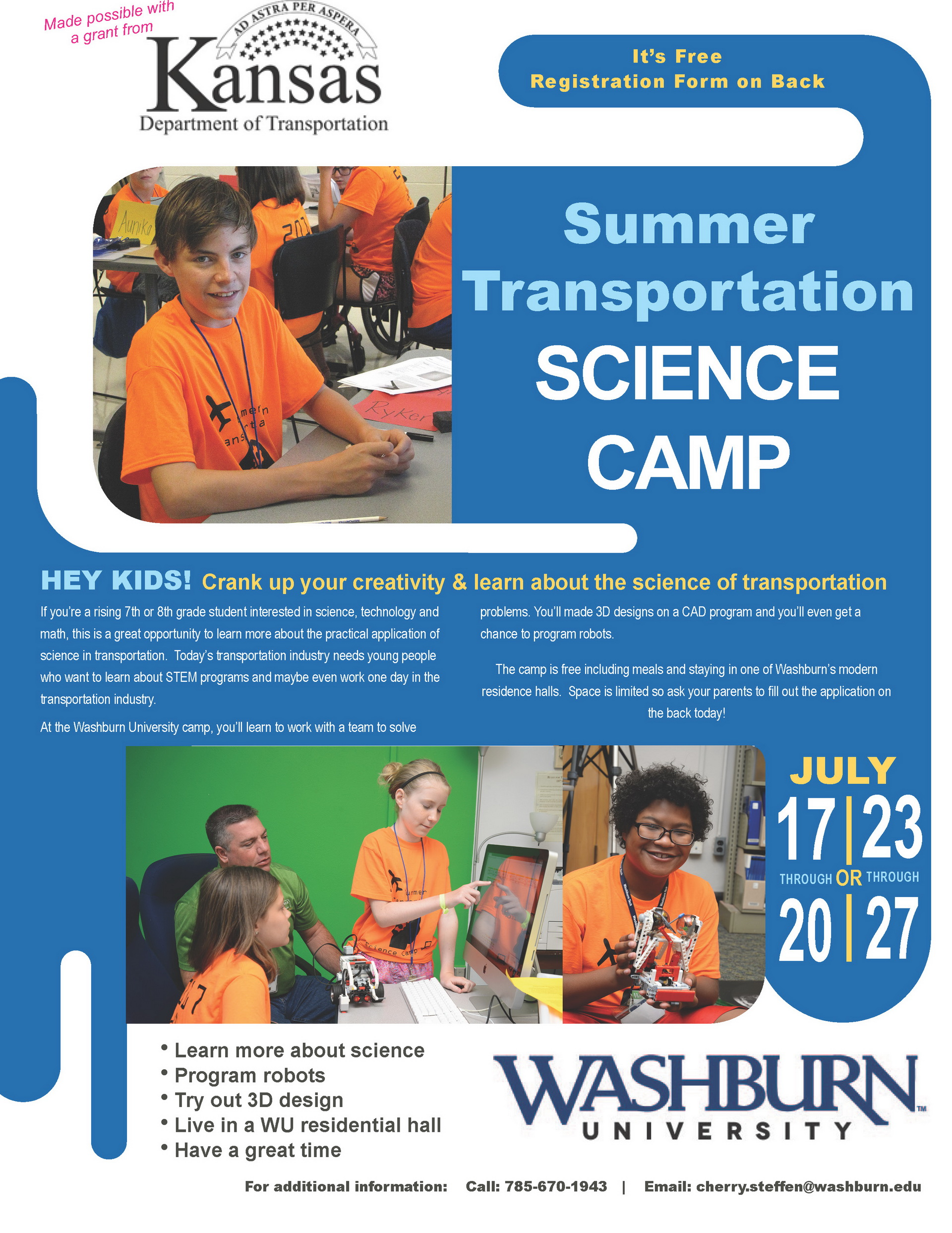 Transportation Science Camp