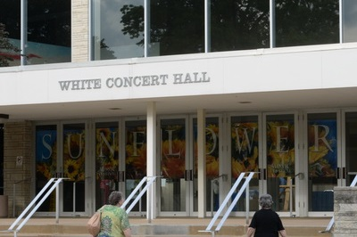 Front of White Concert Hall