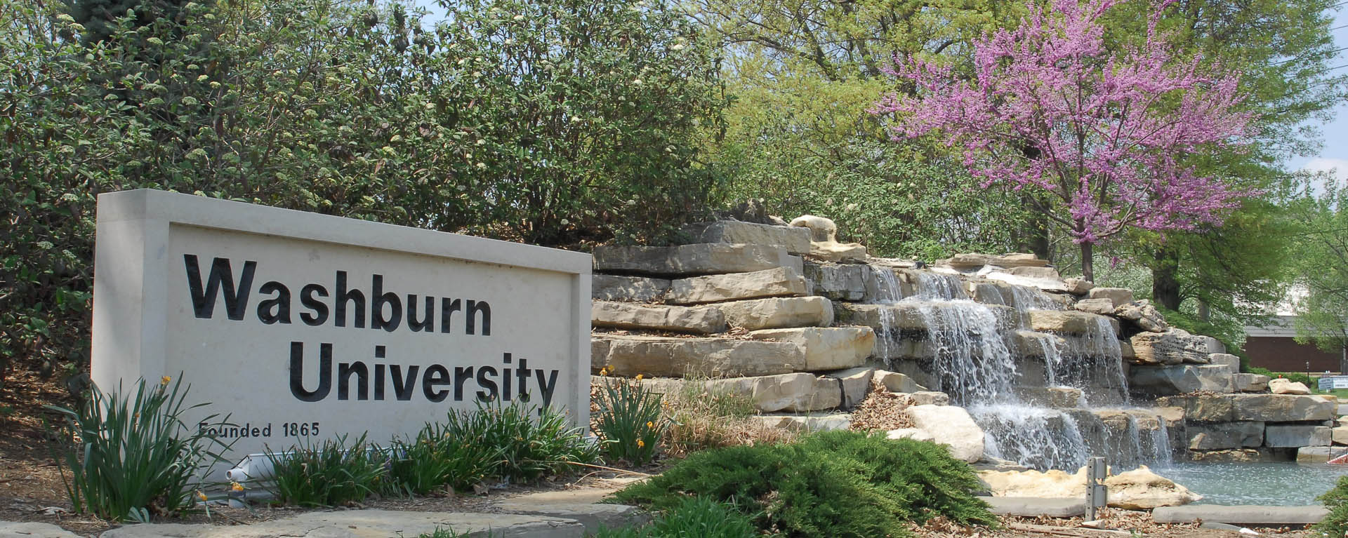 north east campus waterfall sign