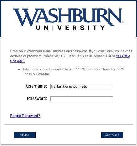 Wireless network connection login page