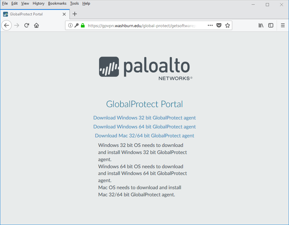 paloalto download page