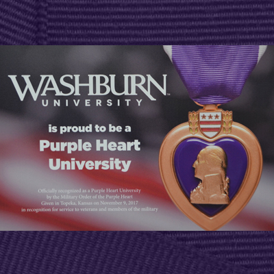 Purple Heart University Graphic
