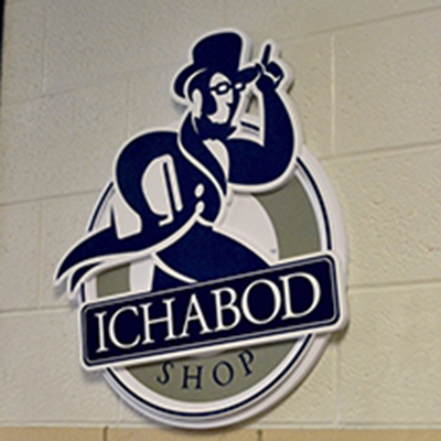 Ichabod Shop page