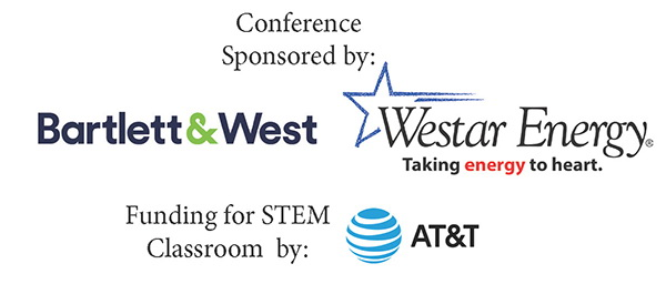 Thanks to our sponsors, Barlett & West and Westar Energy and to AT&T which provided funding for the STEM classroom
