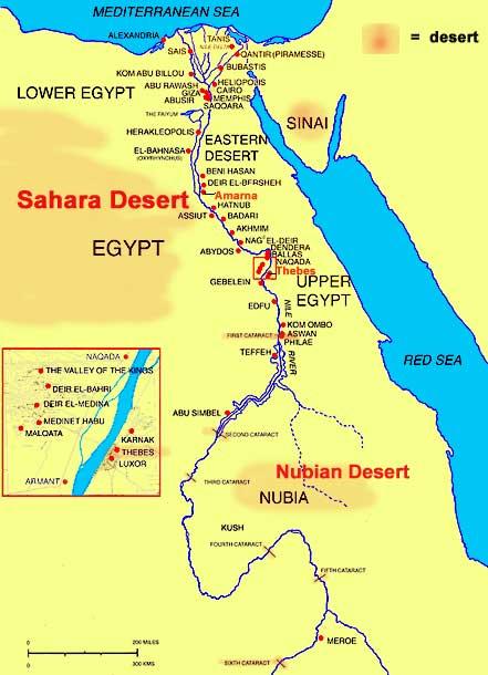 Africa Map Nubian Desert | www.pixshark.com - Images ...