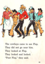 Page from a Cowboy Sam book by Edna Walker Chandler