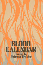 Blood Calender, Book Cover, Patricia Traxler