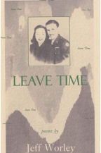 Leave Time, Book Cover, Jeff Worley