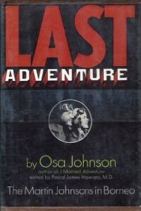 Osa Johnson, Kansas author, Map of Kansas Literature