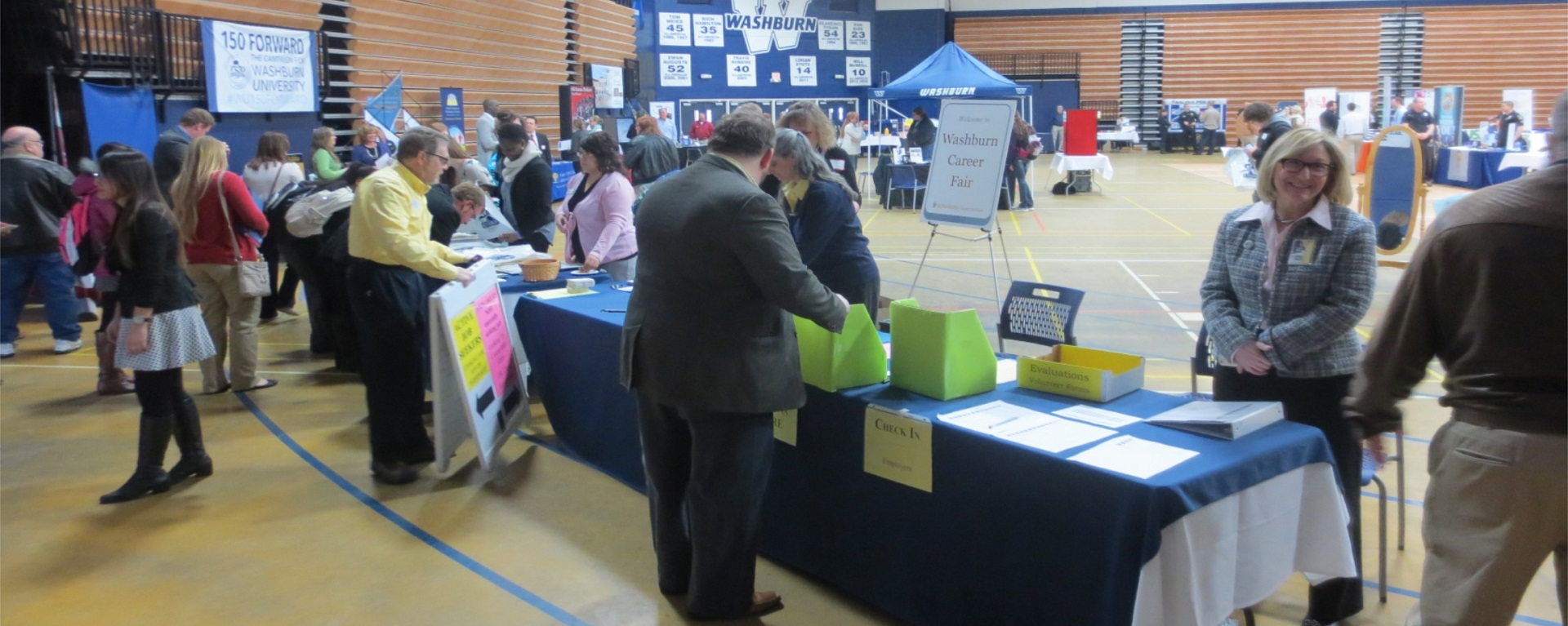 Spring Career Fair And Graduate Salute Student Information